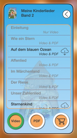 Lieder-TV Screenshot