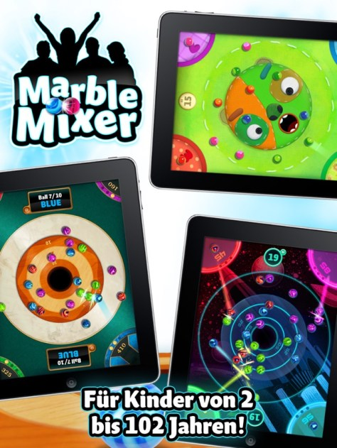 Marble Mixer für iPad Screenshot