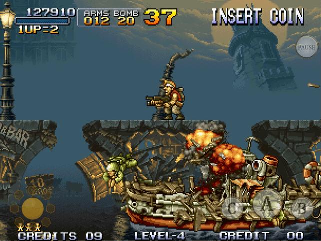 METAL SLUG 1 Screenshot
