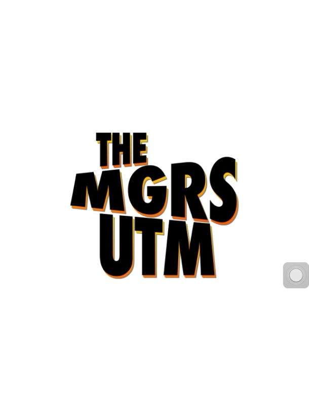 The MGRS UTM Convertor for iPhone Screenshot
