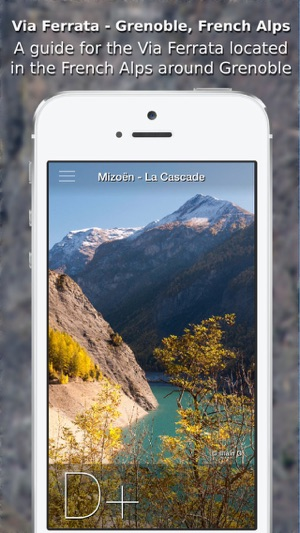Via Ferrata   Grenoble  French Alps on the App Store iPhone Screenshots