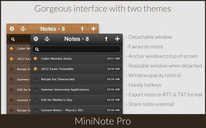 MiniNote Pro Screenshot 2 16seosyn