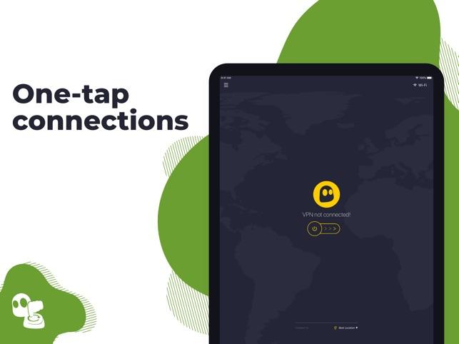 CyberGhost VPN & WiFi Proxy Screenshot