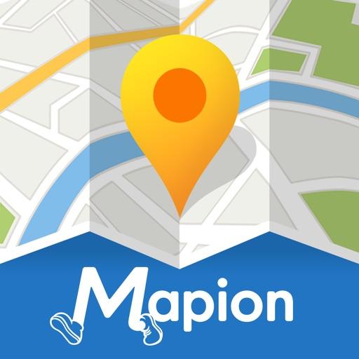 地図マピオン-駐車場検索&マップコード完全対応