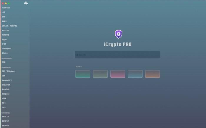 iCrypto PRO Screenshot 01 1na3gs1n