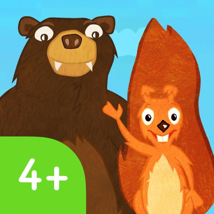 Squirrel & Bär lernen Englisch 4+