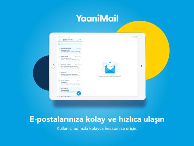 YaaniMail: Türkiye'nin Maili Screenshot