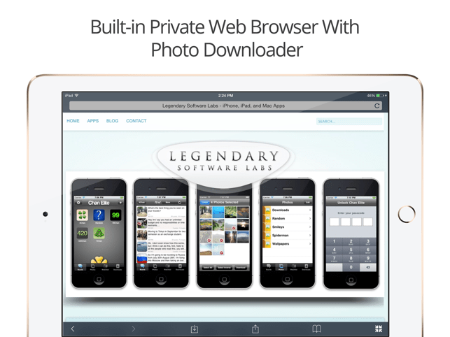 ‎Private Photo Vault - Pic Safe Screenshot