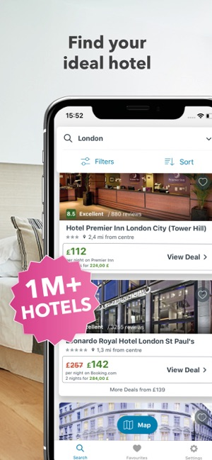 ‎trivago: Compare hotel prices Screenshot