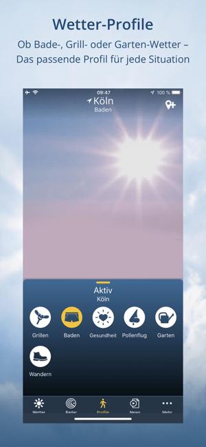 wetter.de: Wetter & Regenradar Screenshot