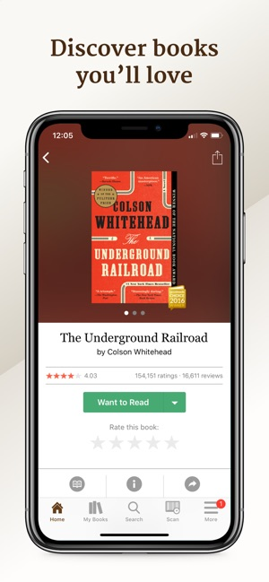 Goodreads: Book Reviews Screenshot