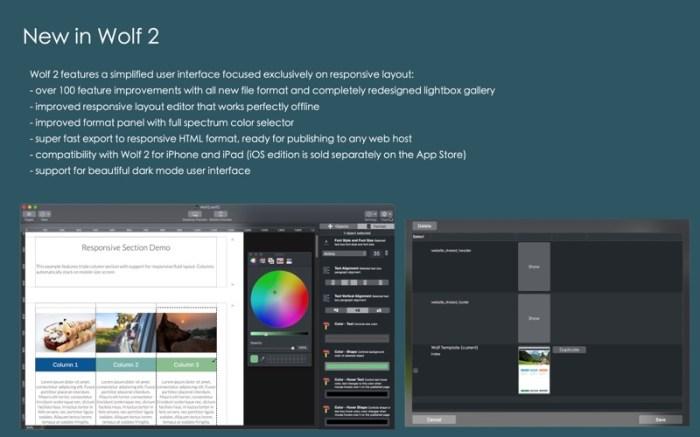 Wolf 2 - Responsive Designer Screenshot 05 cf188mn