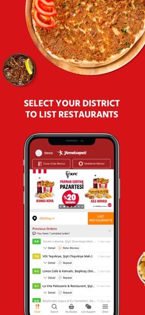 Yemeksepeti: Food & Grocery Screenshot