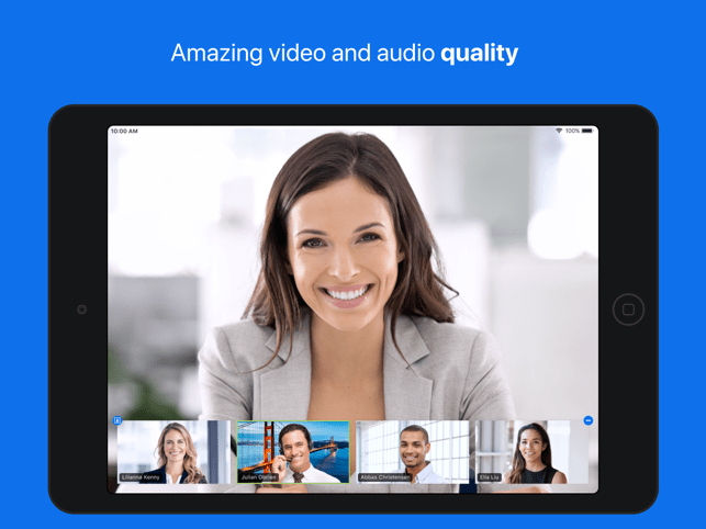 ZOOM Cloud Meetings Screenshot