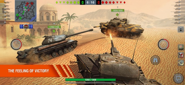 ‎World of Tanks Blitz PVP War Screenshot