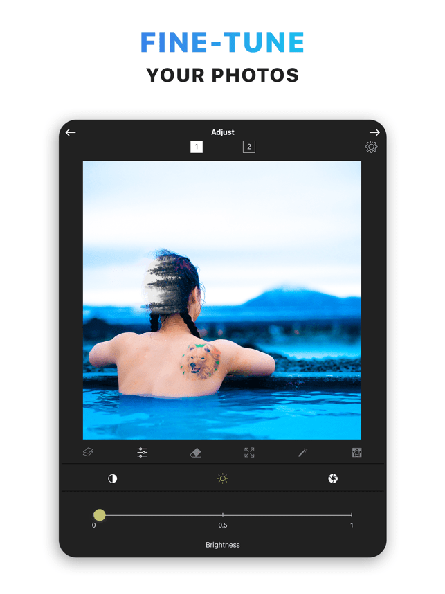 Blend Double Exposure Photo.s Screenshot