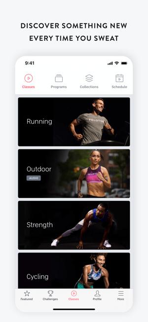 Peloton — at home fitness Screenshot