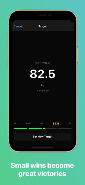 Vekt - Weight Tracking Screenshot