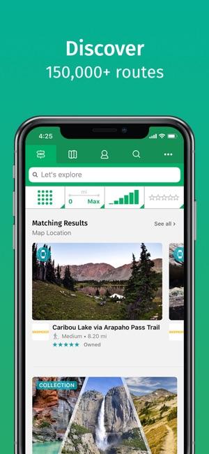 ViewRanger: Hike, Ride or Walk Screenshot