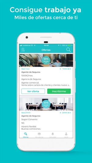 Worktoday - Empleo Trabajo Screenshot