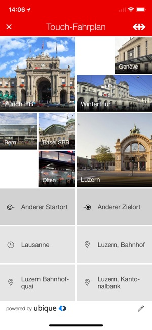 SBB Mobile Screenshot
