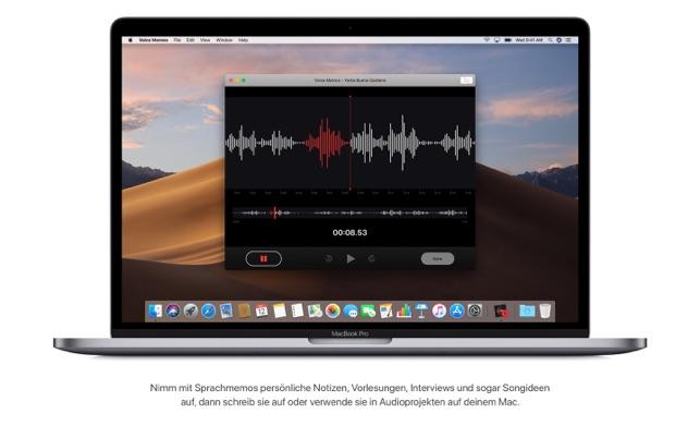 macOS Mojave Screenshot
