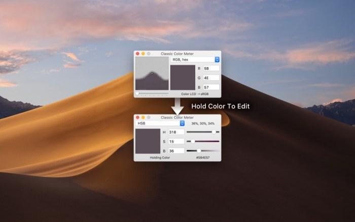 Classic Color Meter Screenshot 01 f0tgcxn