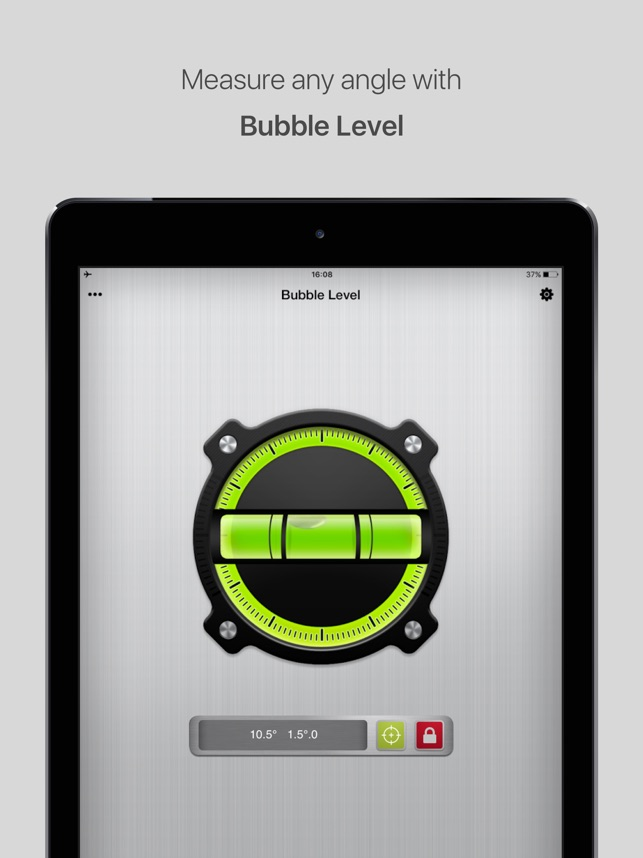Bubble Level for iPhone Screenshot