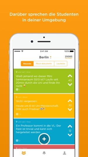Jodel Screenshot