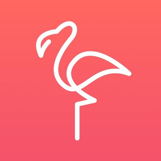 フラミンゴ – 英会話・中国語・韓国語の勉強アプリ