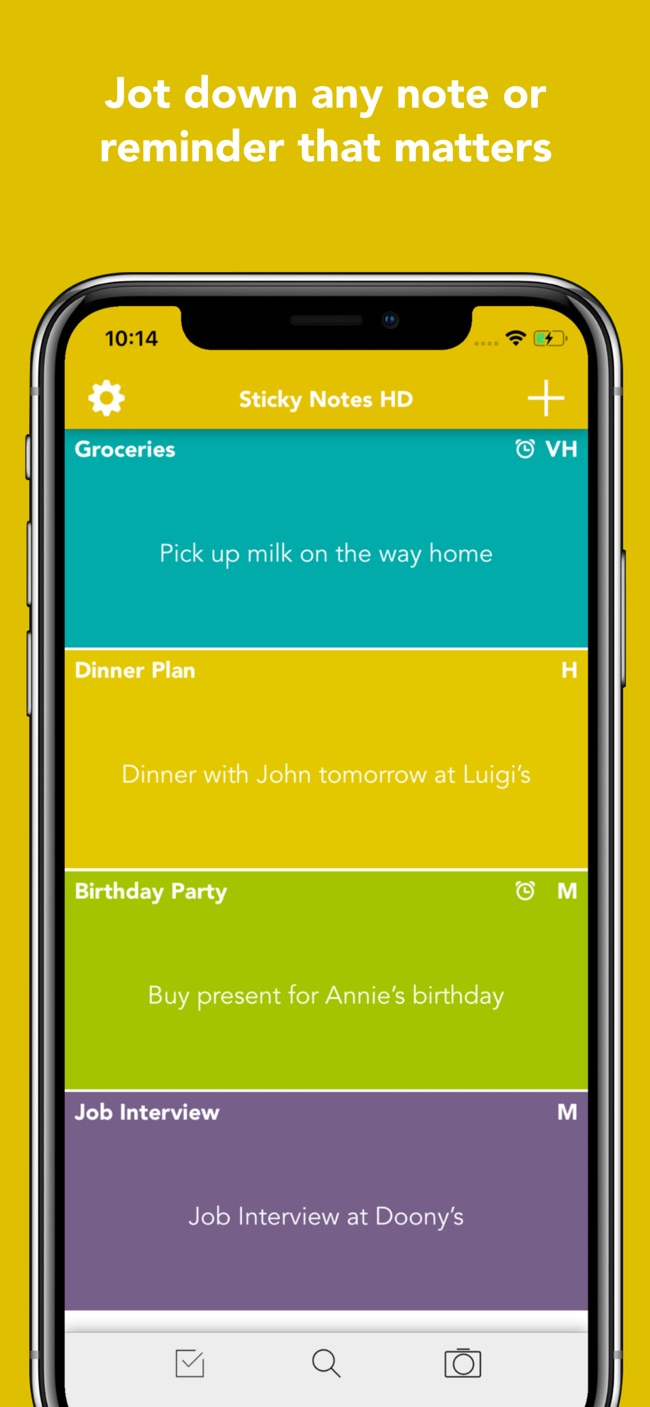 Sticky Notes HD Screenshot