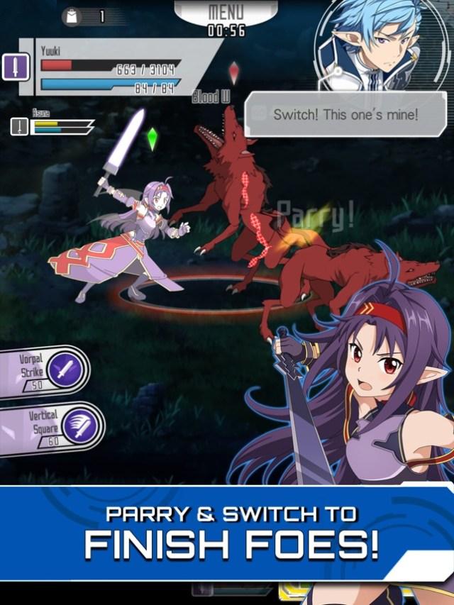 SWORD ART ONLINE:Memory Defrag Screenshot