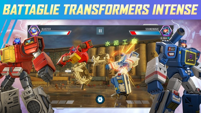 TRANSFORMERS: Combattenti Screenshot