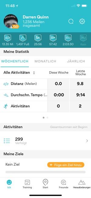 Runkeeper – GPS-Lauf-Tracker Screenshot