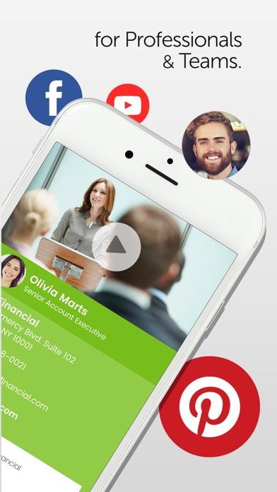 Switchit Digital Business Card Screenshot