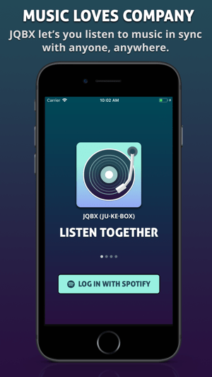 JQBX: Discover Music Together Screenshot