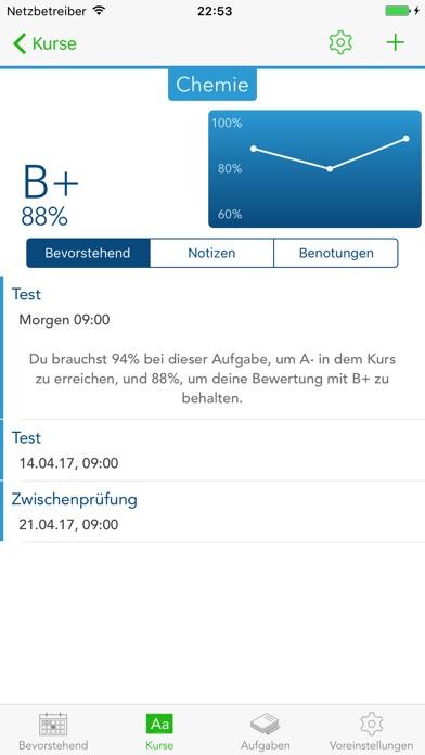 Studien-Kal — Planer und Organizer für Studenten Screenshot