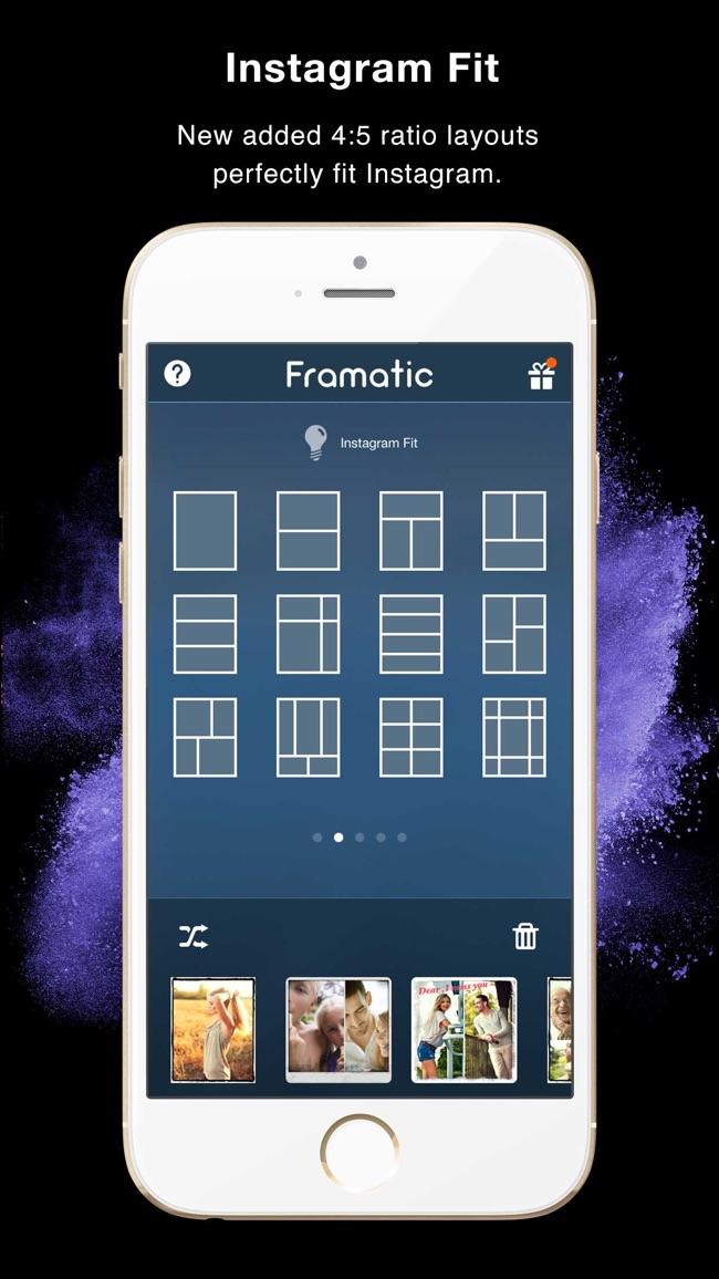 Framatic Pro - Photo Collage Screenshot