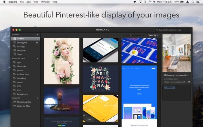 Inboard - Image Organizer Screenshot 01 xnj6bn