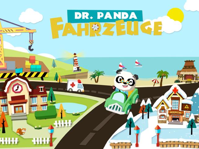 Dr. Panda Fahrzeuge Screenshot