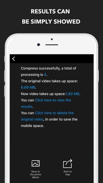 Video Compress Pro - Reduce movie size Screenshot