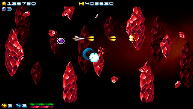 ‎Super Hydorah Screenshot
