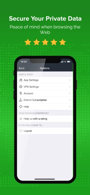 VPN for Wifi Security by ibVPN Screenshot