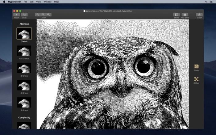 HyperDither Screenshot 02 ikzeffn