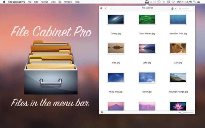 File Cabinet Pro Screenshot 01 rrwwjon