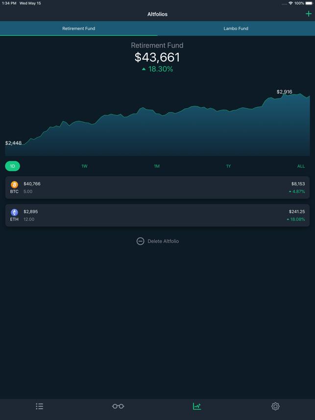 CoinCap Screenshot