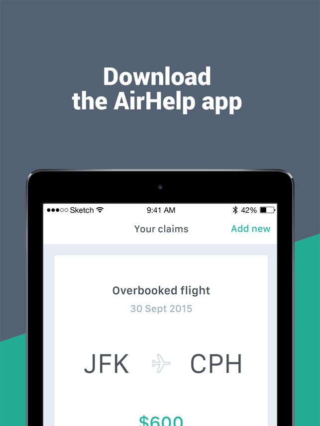 AirHelp – Flight Compensation Screenshot