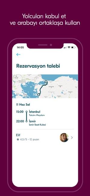 BlaBlaCar Yolculuk paylaşımı Screenshot