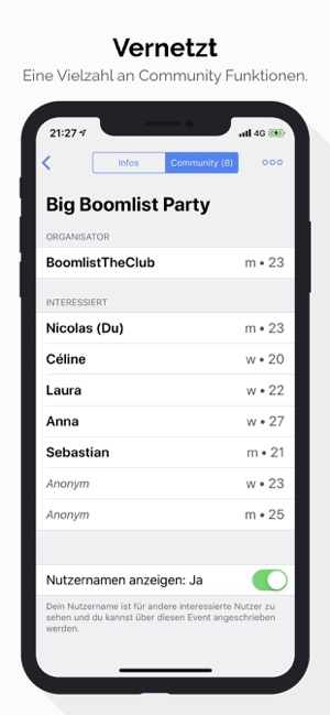 ‎Boomlist Screenshot