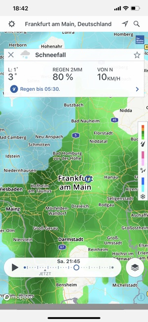 Storm Radar: Wetterkarte Screenshot